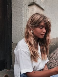 Matilda Djerf - Page 12 of 247 - Quick Hairstyles, Everyday Hairstyles, Hairstyles With Bangs, Pretty Hairstyles, Straight Hairstyles, Female Hairstyles, Hairstyles Videos, Hairstyles 2018, Ponytail Hairstyles