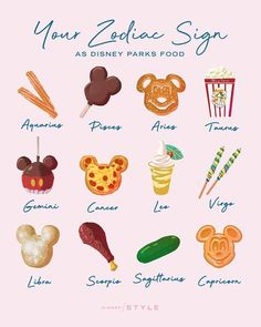 I'm a Leo, so guess I need to have my first dole whip soon!
