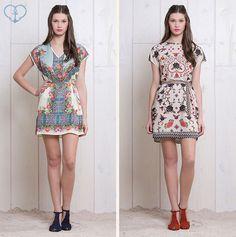 Vestido Idilio e Vestido Floral Étnico