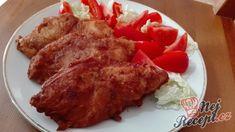 Pivní rarášci | NejRecept.cz French Toast, Pork, Cooking Recipes, Meat, Chicken, Breakfast, Recipes, Kale Stir Fry, Morning Coffee