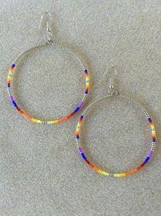 Seed Bead Bracelets, Seed Bead Jewelry, Cute Jewelry, Beaded Earrings Patterns, Bead Earrings, Beaded Necklace, Earring Crafts, Jewelry Crafts, Beadwork Designs
