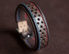 Leather Bracelet for Men Brown - Harley Davidson Tribute