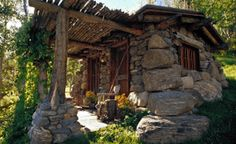 Stone Cabin somewhere in the mountains...