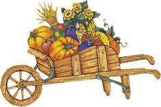 Garten, Kräuter - Garden and Herbs - Jardin et fines herbes Fall Harvest, Autumn, Arte Country, Fall Cookies, Die Cut, Gifs, Gif Animé, Thanksgiving Cards, Wool Applique