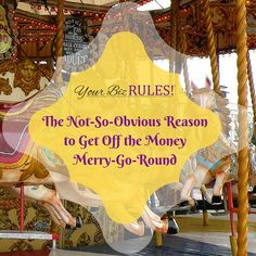 Steady income-producing channels build a strong business. What's your plan? http://yourbizrules.com/not-obvious-reason-get-off-money-merry-go-round/ #smallbiz #cashflow