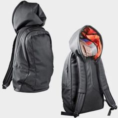 Cap Hoody Hoodie Backpack Bag Back Pack with Hat picture from Xiamen Minghui Import and Export Co. view photo of Hoodie Backpack, Hoodie Bag, Hoody Backpack.Contact China Suppliers for More Products and Price. Hussein Chalayan, Mein Style, Great Inventions, Zadig, Cool Backpacks, Stylish Backpacks, Clothing Items, Geek Clothing, Backpack Bags