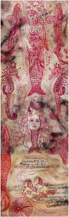 Alexandra Drenth ''embroidery becomes meditation, and then you know that you can create anything you want''