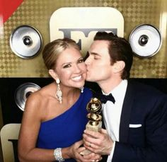 At the golden globes 2015 Normal Heart, Entertainment Tonight, Best Supporting Actor, Hooray For Hollywood, Lucky Girl, I Love You All, Matt Bomer, Golden Globes, Perfect Man