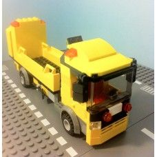 City truck, Roadwork. Webshop for customlego designs