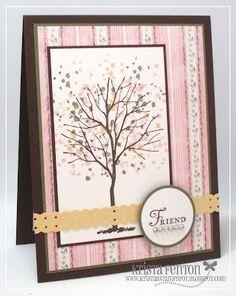 Friend - Tree card by Krista Fenton