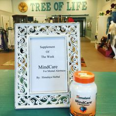 "Supplement of the Week ""MindCare"" by:  Himalaya Herbal Healthcare is for mental alertness, supports mental performance and focused energy. $24.99 @ Tree of Life Supplements, Gifts & More COME IN AND GET YOURS TODAY!!!  #mindcare  treeoflifesgm@yahoo.com"