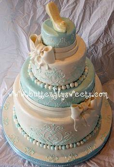 Cinderella cake :)  I'll get it one day!