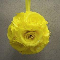 Pomander Flower Kissing Balls Wedding Centerpiece, 6-inch