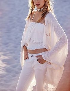 Ride on the Tide Kimono at Free People