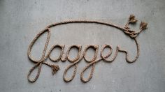 Handcrafted custom personalized western rope name art, perfect for any western, rustic or nautical themed decor. Please visit my etsy shop, Lasso Lettering, at https://www.etsy.com/shop/LassoLettering