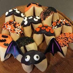 Spooky Halloween Fortune Cookies!  Www.thesweetandsourchronicles.com
