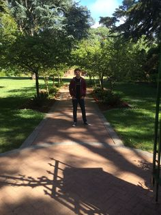 Christian at the Botanical Gardens in San Francisco