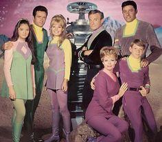 La familia Robinson de la serie Perdidos en El Espacio.