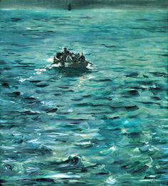 "Édouard Manet: Henri Rochefort's Escape (L'Evasion de Rochefort), d'Orsay, Paris, France. ""This painting is the smaller of the two versions of Rochefort's Escape painted by Manet after December The other version is in the Kunsthaus, Zurich. Claude Monet, Edouard Manet, Oil Canvas, Canvas Art, Peter Paul Rubens, Antibes, Renoir, Michelangelo, Art Google"