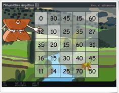 """Álex el Saltamontes"" (Juego de cálculo mental de Primaria) 2nd Grade Math, Apps, Html, Editorial, Maths Area, Grasshoppers, Teaching Resources, Learning, Mental Calculation"