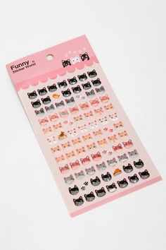 Meow Gel Sticker Sheet