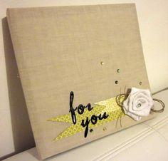 Scrapbookingitalia: Wedding post: un album per card e biglietti