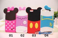 Coque silicone pour iPhone 6s 6s plus sur le site lelinker.fr dessin animé Disneyland très mignon et coloré