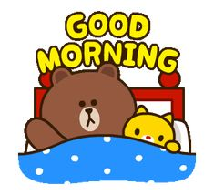 Cute Good Morning Gif, Good Morning Wishes, Good Morning Images, Morning Memes, Morning Greetings Quotes, Good Morning Gif Animation, Cony Brown, Brown Bear, Cute Love Gif