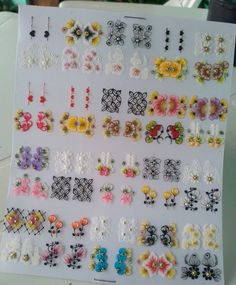 Nails Inspiration, Nail Art, Stickers, Manicures, Diana, Gorgeous Nails, Pretty Nails, Nail Decals, Flower Nail Designs