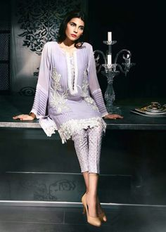 Suffuse by Sana Yasir 2014 Pakistani Formal Dresses, Pakistani Wedding Outfits, Pakistani Dress Design, Ethnic Fashion, Girl Fashion, Casual Dresses, Fashion Dresses, Stitching Dresses, Beautiful Dresses For Women
