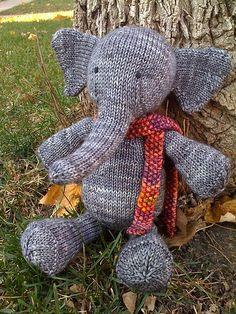 Ravelry: Denysse's Elia the Elephant