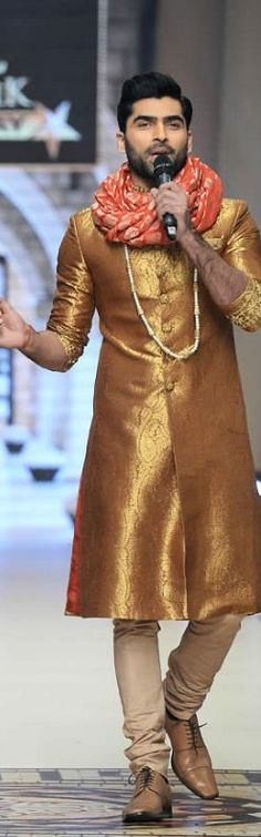 Uzma Babar Telenor Bridal Couture Week 2014 Shehnai Collection #bridalcollections #bridaldresses Indian Wedding Fashion, Indian Men Fashion, Mens Fashion, Groom Outfit, Groom Dress, Sherwani, Indian Man, Indian Groom, Indian Male Model