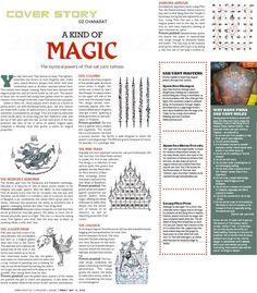The mystical powers of Thai sak yant tattoos: