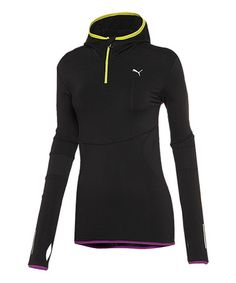 Take a look at this Black Pure Core Long-Sleeve Hoodie by PUMA on #zulily today!