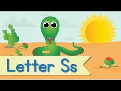 Letter S Song (Official Letter S Music Video by Have Fun Teaching) Alphabet Video, Alphabet Songs, Abc Songs, Alphabet Activities, Preschool Songs, Kindergarten Activities, Have Fun Teaching, Fun Learning, Letter S Song