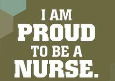 Proud of  be nurse