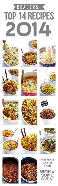 Readers' 14 Favorite Recipes Of 2014
