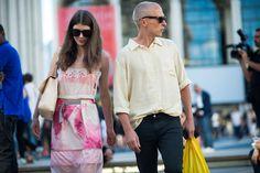 New York Fashion Week Spring 2014 Street Style, Day 4
