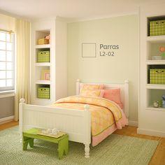 La combinación de #COLORES claros y sutiles le dará más vida a la habitación; será más cómodo estar en ella.
