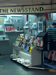 Hipster Newsstands? Get Your Zines