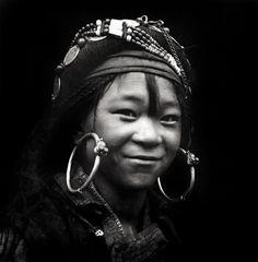 China | Pumi girl, Muli, Sichuan Province Zhuang Xueben, 1939 |  ©Zhuang Xueben