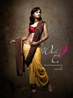 The ultimate sari how-to book! The Whole 9 Yards - Book Cover