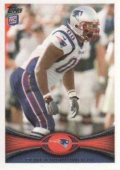 2012 Topps Football #322 Dont'a Hightower RC New England Patriots NFL Rookie Trading Card by Topps. $1.99. 2012 Topps Co. trading card in near mint/mint condition, authenticated by Topps Collectibles