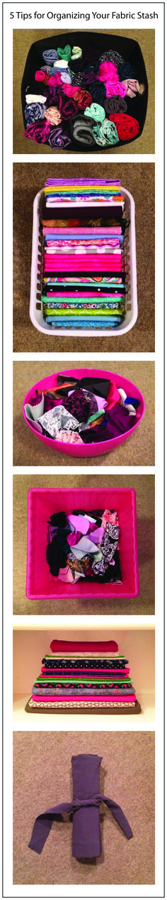5 Tips for Organizing Your Fabric Stash