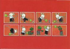 Bewegingskaarten bal Body Map, Physical Activities, Preschool, Paper Crafts, Clip Art, Teaching, Baseball Cards, Kids, Cycle 1