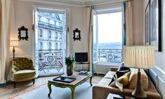 Minervois Paris Apartment Rental Living Room