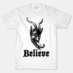 Believe In Krampus #krampus #christmas