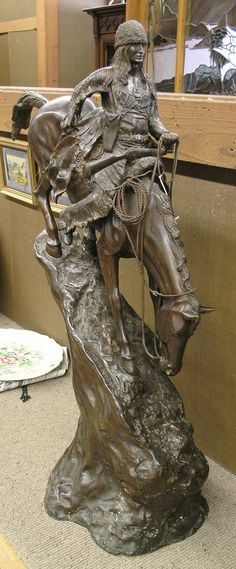 Statues by Frederick Remington | Share on facebook Share on Twitter Share on Pinterest Share on Email ...