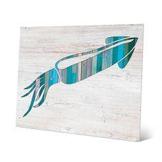 Horizon Squid' Aluminum Metal Wall Art