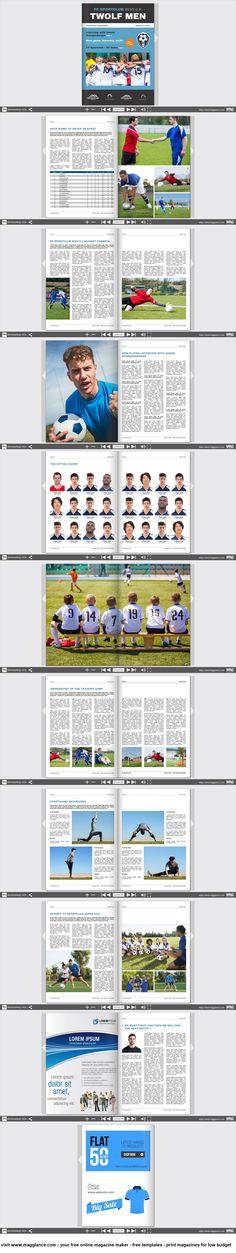 Vereinszeitung kostenlos online erstellen und günstig drucken unter ...